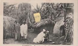 "HAOUSSA  ""Cameroun""  Repas Dans Un Village... - Camerun"