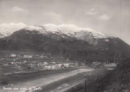 12191-PONTE NOSSA CON VISTA DI PARRE(BERGAMO)-1951-FG - Bergamo
