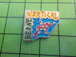 1418b Pin's Pins / Belle Qualité Et TB état !!!! : THEME SPORT / ESCALADE BESNE VERTICAL - Alpinisme