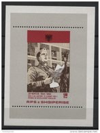 ALBANIA, 40th YEAR ANNIVERSARY OF THE LIBERATION 1984, SOUVENIR SHEET NEVER HINGED ** - Albanie