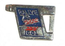 Pin's BIDON HUILE IGOL RALLYE ZS TURBO - Badges