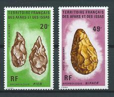 AFARS Et ISSAS 1973 . Poste Aérienne N°s 83 Et 84 . Neufs ** (MNH) - Neufs