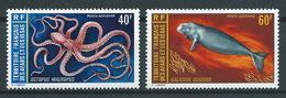 AFARS Et ISSAS 1973 . Poste Aérienne N°s 85 Et 86 . Neufs ** (MNH) - Afar- Und Issa-Territorium (1967-1977)