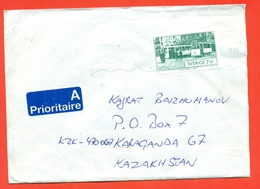 Sweden 1995.Tram.Envelope Past Mail.Airmail. - Sweden