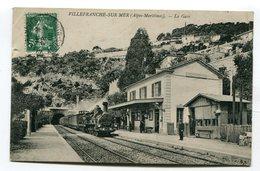 CPA 06 :  VILLEFRANCHE SUR MER  La Gare    VOIR DESCRIPTIF  §§§ - Villefranche-sur-Mer