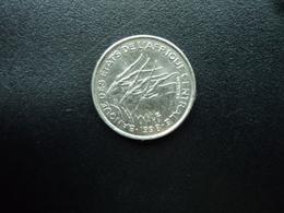 ÉTATS DE L'AFRIQUE CENTRALE : 50 FRANCS   1998    KM 11      Non Circulé - Monnaies