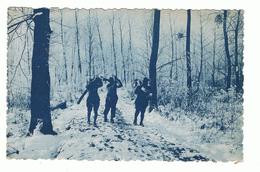 MILITAIRE -AISNE 1918 - GUERRE 1914-1918 -LA CORVEE DE BOIS - Oorlog 1914-18