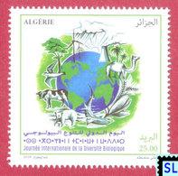 Algeria Stamps 2018, International Day For Biological Diversity, Fish, Birds, Camel, Cow, Bear, MNH - Algeria (1962-...)