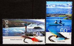 Iceland  2005   Salmon Fishery Lachsfischen    Minr.1104-05  MNH (**)  ( Lot F 673  ) - Nuovi