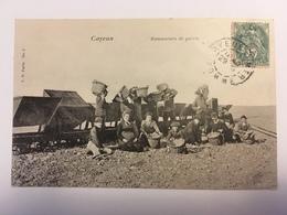 Cayeux - Ramasseurs De Galets - Cayeux Sur Mer