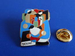 Pin's Peinture Mortazavi - Oeuvre Art Moderne - Peintre Tableau - Num 198/600 (YB12) - Celebrities