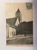 Cerny - L'église - France