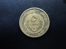 MAURITANIE : 5 OUGUIYA   1393 / 1973    KM 3     TTB - Mauritania