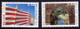 Belgium 3291/92** Europa   MNH - Belgium