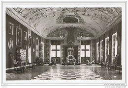 ROSENBORG:  THE  GREAT  HALL  WITH  THE  THRONE  AND  THE  SILVER  LIONS  -  PHOTO  -  FP - Danimarca