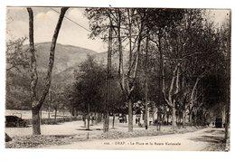 CPA Drap Alpes Maritimes 06 La Place Et La Route Nationale éditeur Braeckmans à Nice N°102 - Frankreich