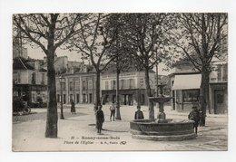 - CPA ROSNY-SOUS-BOIS (93) - Place De L'Eglise 1918 (CAFE-RESTAURANT DU COMMERCE) - Edition B. F. N° 19 - - Rosny Sous Bois