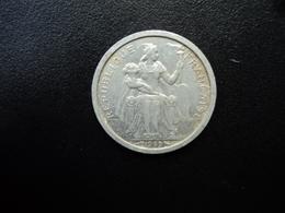 POLYNÉSIE FRANÇAISE : 1 FRANC   1965    G.2 / KM 2     SUP * - Polynésie Française