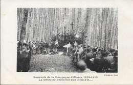 Cpa Hartmannswilerkopf - Vieil Armand, Ww1 , La Messe De Pentecôte , Non écrite - Guerre 1914-18