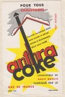 8/50 BUVARD GAZ DE FRANCE ANTRA COKE CHAUFFAGE - Electricité & Gaz