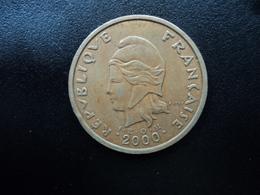 POLYNÉSIE FRANÇAISE : 100 FRANCS    2000     G.135e / KM 14      TTB+ - Polynésie Française