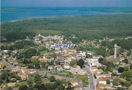 CPM De  LACANAU MEDOC   (33) - Le BOURG Au Fond Le LAC Du MOUTCHIC N° 9 - Autres Communes