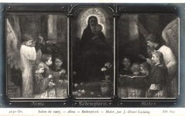 SALON DE 1907  ALMA  REDEMPTORIS  MATER  PAR J.-HENRI CASTAING - Peintures & Tableaux