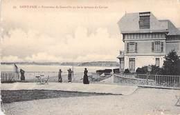 50 - SAINT PAIR Sur MER -  Panorama De Granville Vu De La Terrasse Du Casino (état) - Saint Pair Sur Mer