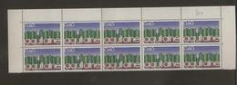 Bloc De 10 Timbres Région Aquitaine N°1864 (bord De Feuille) - Ungebraucht