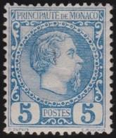 Monaco    .   Yvert    .    3     .     *   .     Neuf Avec Charniere    .     /    .    Mint-hinged - Monaco