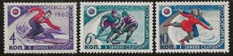 Russie 1962 N° Y&T :  2500 à 2502 ** - Nuovi