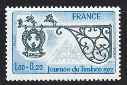"FR YT 1927 ""Journée Du Timbre"" 1977 Neuf** - Unused Stamps"