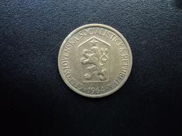 TCHÉCOSLOVAQUIE : 1 KORUNA   1964    KM 50      SUP - Tchécoslovaquie
