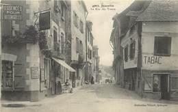 JOSSELIN - La Rue Des Trente.café Soufflet. - Josselin