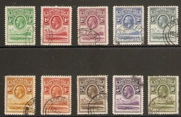 BASUTOLAND 1933 SET SG1/10 FINE USED Cat £375 - 1933-1964 Crown Colony