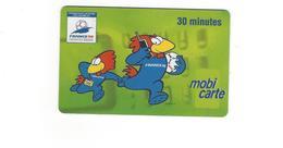 CARTE TELEPHONIQUE  MOBI CARTE MONDIAL 1998   30 MINUTES  *****    A   SAISIR ****** - Mobicartes (recharges)