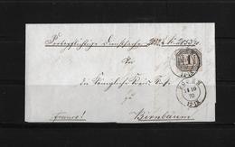 Norddeutscher Postbezirk → Dienst Brief Posen Nach Birnbaum 1870 - Conf. De L' All. Du Nord