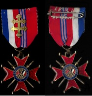 Médaille Militaire : French Medal Order Croix Franco British - France