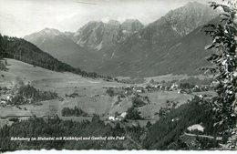 005808  Schönberg Im Stubaital Mit Kalkkögel Und Gasthof Alte Post - Österreich