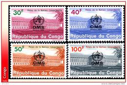 Congo 0625/28** O M S Surcharges  MNH - République Démocratique Du Congo (1964-71)