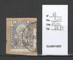 Maroc - Yvert 48 - Mazagan - Marrakech - Oblitéré - Morocco (1891-1956)