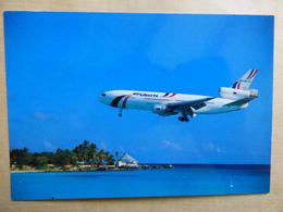 AEROPORT / FLUGHAFEN / AIRPORT    ST MAARTEN / ST MARTIN   DC 10 AIR LIBERTE   EDITION PI N° 864 - Aérodromes