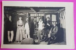 Militaria - Wiedmayer Ellwangen - Photo Camp De Prisonniers Officiers - Pièce De Théatre - Guerre 1914 - 1918 / 19 - Weltkrieg 1914-18