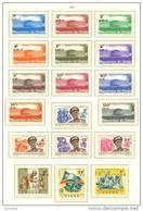 Congo 0727/44** - Palais De La Nation - Mobutu -  Armée Cote 30 Euro  -MNH- - République Démocratique Du Congo (1964-71)