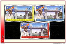 Congo 0745/47**  Nouveau Regime  MNH - République Démocratique Du Congo (1964-71)