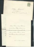 Poitiers / Couhé-Vérac    -F.P. Mariage MLLe Leontine Piart Avec M Pierre Desmarest , Avocat , Le 17/09/1901 Fab7919 - Mariage