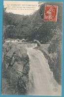 LA CORREZE PITTORESQUE - ENVIRONS DE TREIGNAC - La Cascade Du Saut De La Virolle - Carte Circulé 1908 - Treignac