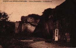 DOUCES PRES DOUE LA FONTAINE -49-CAVES D'HABITATION LA DISTELLERIE - Doue La Fontaine