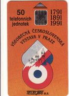Czechoslovakia 1991 Exposition Prague 1991, 50 Units, Nr. 11/91 SL 5, - Tchécoslovaquie