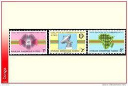 Congo 0782/84** Telecommunications  MNH - Neufs